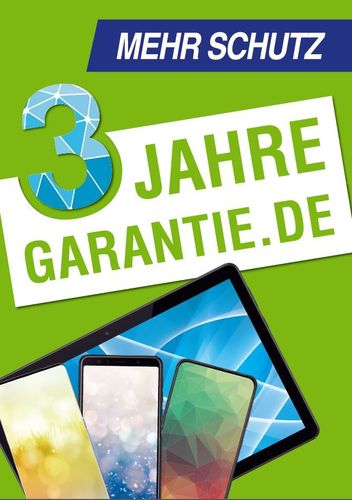 Download: Poster 3 Jahre Garantie