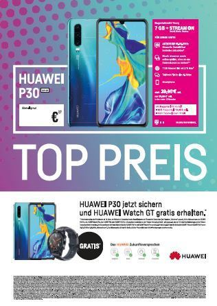 Download: telekom_HUAWEI P30 im MagentaMobil S Young plus Watch GT
