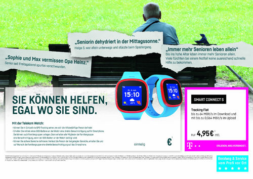 Download: Telekom Watch Thekenauflage