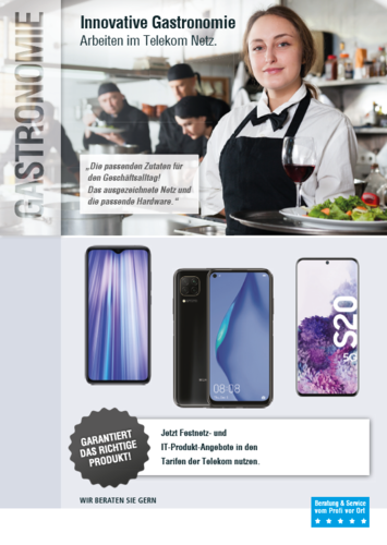 Download: Zielgruppenflyer Gastronomie Q2
