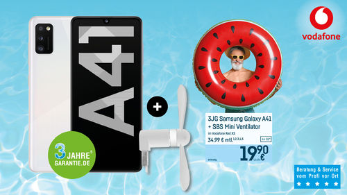 Samsung Galaxy A41 Juli 2020 FB VF